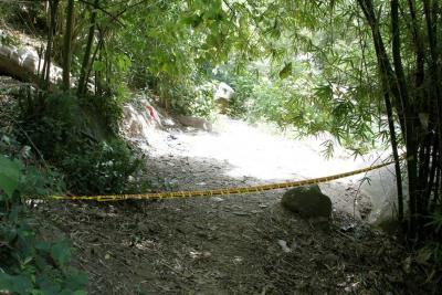 Joven fue asesinado a orilla de una quebrada en Floridablanca