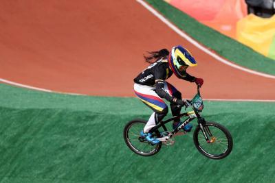 Mariana Pajón ganó válida de la Copa del Mundo de BMX