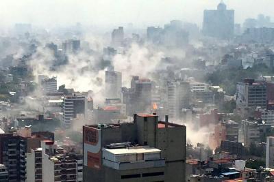 Devastador terremoto de 7.1 sacudió a México