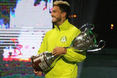 Mateo Carvajal, ganador del Desafío Súper Humanos 2017