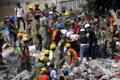 Expertos colombianos ayudarán en labores de rescate tras terremoto en México