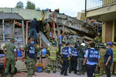 Al menos 44 colombianos han solicitado ayuda tras el terremoto en México