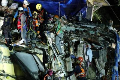 Aumentan a 286 los fallecidos por el terremoto en México