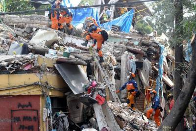 Aumentó a 292 el número de víctimas mortales por el terremoto en México