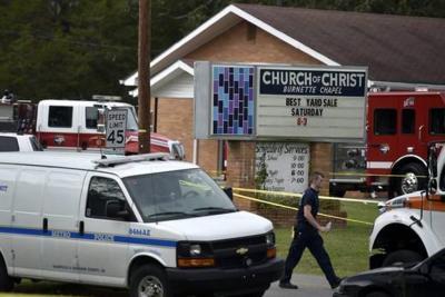 Tiroteo en una iglesia en Estados Unidos deja un muerto y siete heridos