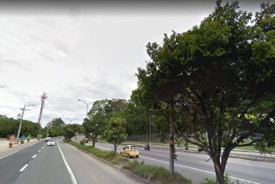 Murió ciclista tras chocar contra bus en Piedecuesta