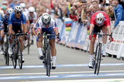 Sagan entró en la historia del ciclismo