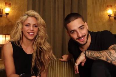 Maluma y Shakira los colombianos más nominados en los Grammy Latino