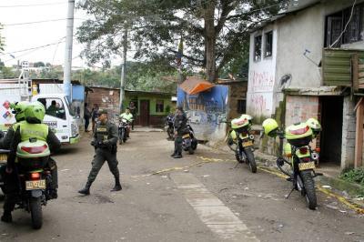 Balacera en Bucaramanga dejó un muerto y un herido