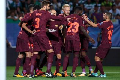 El Barça sigue en racha y derrota 1-0 al Sporting de Portugal