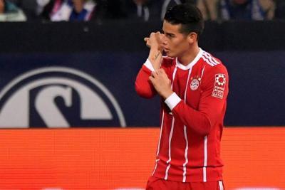 James Rodríguez se las verá este miércoles con Neymar en la 'Champions'