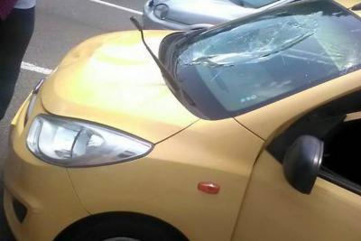 Un peatón falleció luego de ser arrollado por un taxi en Bucaramanga