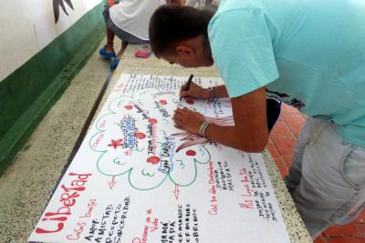 Iniciativa local en Foro Educativo Nacional