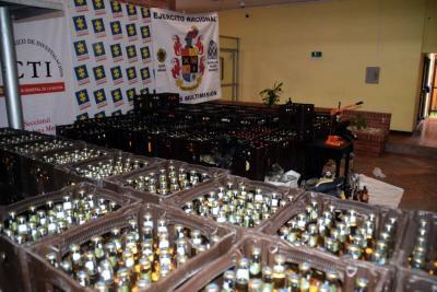 Capturan a seis personas por vender cerveza fraudulenta en Santander