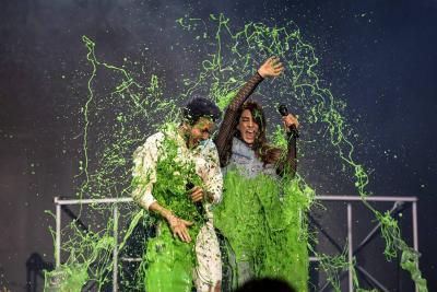 Toda una explosión de 'Slime' en los Kids' Choice Awards Colombia