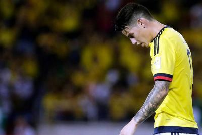 Amarga derrota 2-1 de Colombia ante Paraguay