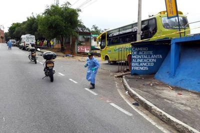 Dos muertos en accidentes en Bucaramanga y Floridablanca