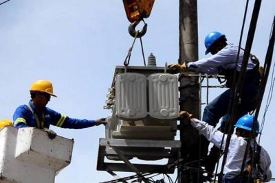Corte de energía eléctrica en provincia guanentina