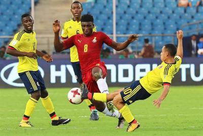 Con la presencia del santandereano Mier, Colombia cayó 1-0 ante Ghana