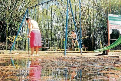 S.O.S. por este parque de Bucaramanga
