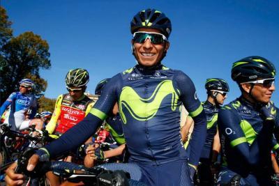 Nairo Quintana fue octavo en el Giro de Lombardía