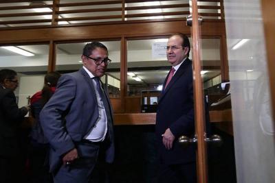 Leonidas Bustos negó exigencias de dinero a Musa Besaile