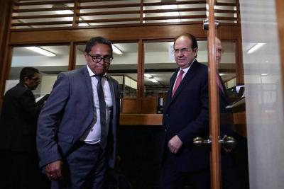 Expresidente de la Corte Suprema declara por caso de corrupción judicial