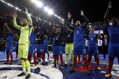 Francia y Portugal se clasificaron al Mundial