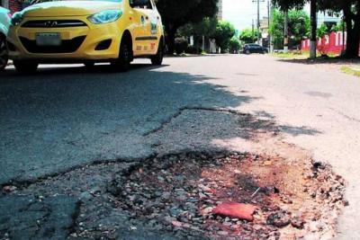 Queda poco tiempo para votar por la vía que se parchará en Bucaramanga