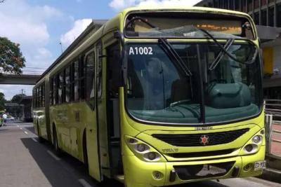 Investigan ataque a bus de Metrolínea en el Centro de Bucaramanga
