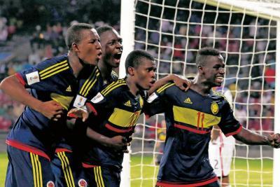 La selección Colombia Sub 17 avanzó a los octavos de final