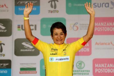 Ana Cristina Sanabria es la nueva líder del Tour Femenino