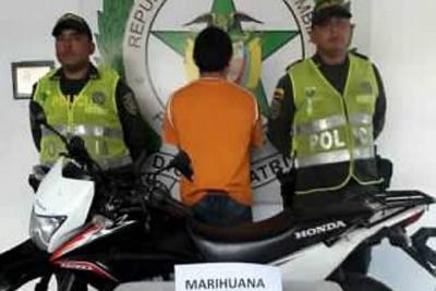 Capturado hombre que lanzaba droga a la Cárcel Modelo de Bucaramanga