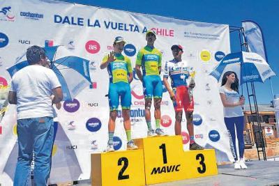 Colombiano Nicolás Paredes, campeón de la Vuelta a Chile