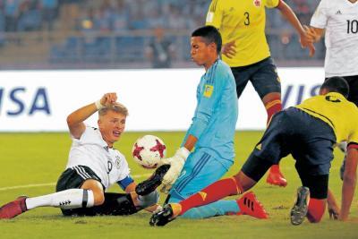 Colombia, eliminada del Mundial Sub 17