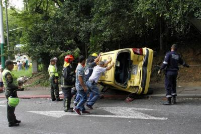 Estas son las 5 imprudencias que más accidentes viales causan en Bucaramanga