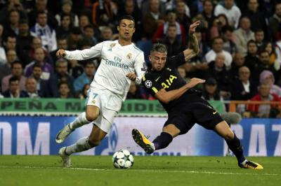 Real Madrid y Tottenham empataron a 1 en la Champions