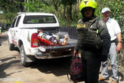 Motociclista murió en la vía entre San Vicente y El Carmen