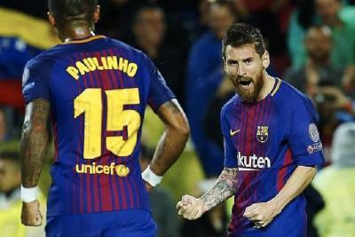 Barcelona, PSG y el Manchester United quedaron muy cerca de clasificar