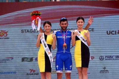 Tercer triunfo consecutivo de Gaviria en China