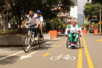 Un mes de atraso cumple inicio de construcción de Ciclovía en Bucaramanga