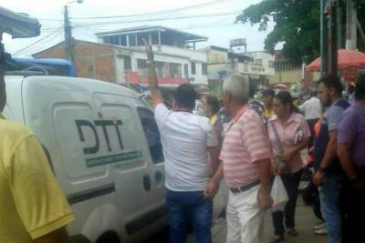 Nuevo ataque contra carro de las 'fotomultas' en Floridablanca