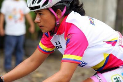 Santandereana Ana Cristina Sanabria es la nueva líder de la Vuelta a Colombia
