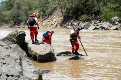 Joven de 19 años habría sido arrastrado por un río al norte de Bucaramanga