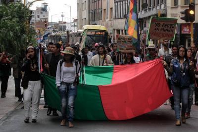 50 mil indígenas participan en la Gran Minga Nacional de este lunes