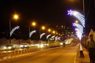 Se invertirán $1.250 millones para el alumbrado navideño en Bucaramanga