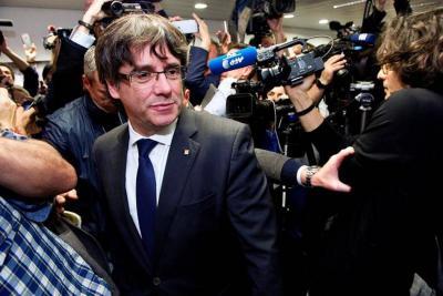 """Puigdemont volverá a España cuando tenga """"garantías"""" de un """"juicio justo"""""""