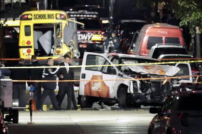 Identifican al autor del ataque terrorista que dejó 8 muertos en Nueva York