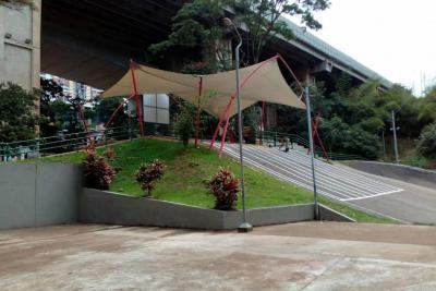 Entregan obras de recuperación del Parque Extremo de Bucaramanga
