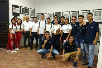 El Sena del municipio llevó a cabo la exposición 'Biblio Arte'